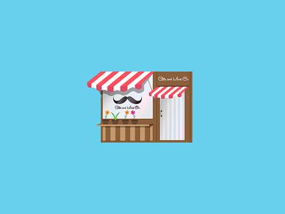Minimalistic Store, Work in Progress design shop style illustrator minimal