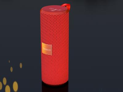Bluetooth Speaker 3D Design animation 3d motion graphics c4d cinema4d
