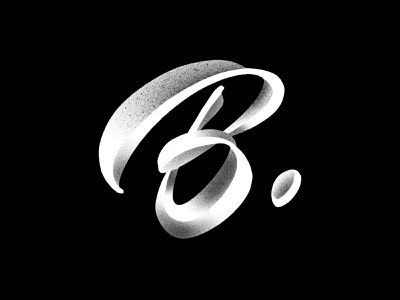 Letter B script 36days-b 36daysoftype calligraphy typography logotype logo typemate lettering