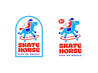 Skatehorse horse skate handlettering type customtype typography logotype logo typemate lettering