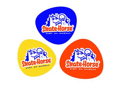 Skatehorse customtype branding illustration typography logotype logo typemate lettering