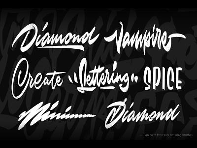 Typemate Procreate brushes procreate procreate brushes script handlettering customtype calligraphy typography logotype logo typemate lettering
