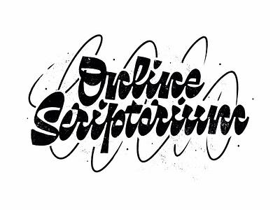 Online Scriprorium online handlettering calligraphy customtype script typography logotype logo typemate lettering