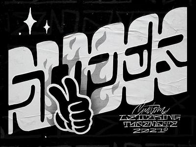 Super texture grain super hand lettering customtype logotype typography logo typemate lettering