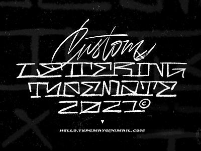 Custom Lettering procreate chicano branding design customtype calligraphy logotype typography logo typemate lettering