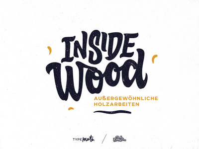 Inside Wood logo by Typemate - Dribbble