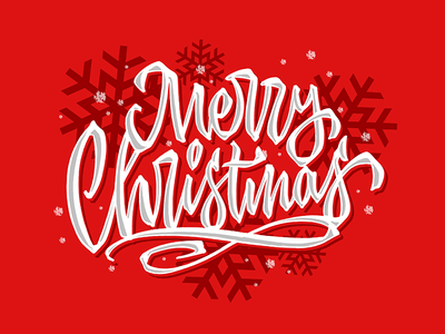 Merry Christmas christmas snow casual hand lettering script sketch handwritten handlettering customtype type typography calligraphy logotype logo typemate lettering