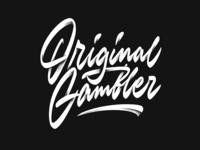Original Gambler logo sketch