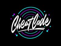 Cheat Code logo sketch