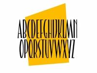 Typeface sketch - latin