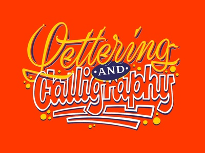 Lettering and Calligraphy signpainting casual script hand lettering sketch handwritten handlettering type customtype typography calligraphy logotype logo typemate lettering