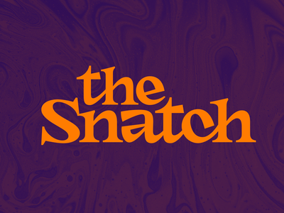 The Snatch type design font snatch hand lettering type customtype typography logotype logo typemate lettering