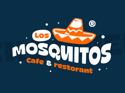 Mosquitos cafe logo font family font design funky cyrillic new font шрифт mosquito typeface font type customtype typography logotype logo