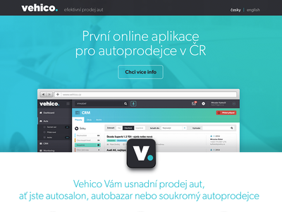 Vehico Landing Page
