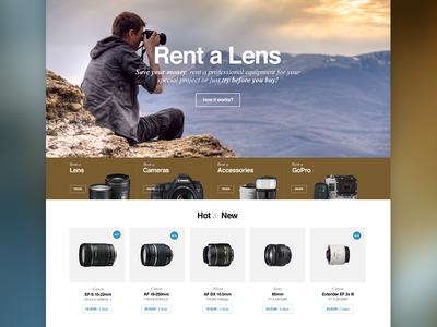 Rent a Lens Sneak Peek