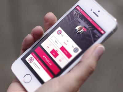 AR sport app ios augmented reality ar sport user interface user experience design ui ux iphone app sperience