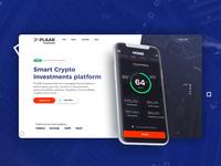 PLAAK Crypto Investments Landing