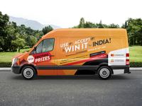 Win It for India! — Van Wrap