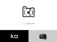 Kim Amodo Photography   Logo Design