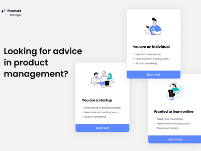 Product Management Website dribbbleshot dribbble interaction ux illustration white ui design ui
