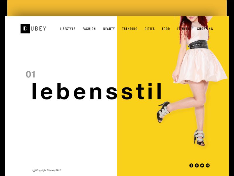 Lifestyle Magazine & e-commerce store by Alok Dubey on Dribbble