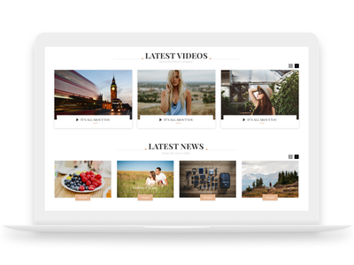 Lifestyle Magazine ui store web simple shop lifestyle lemon-yellow homepage fashion e-commerce design branding