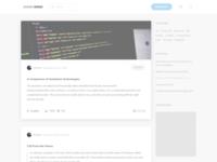 Blog theme for mycode.pro