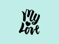 My Love Logo
