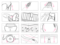 Storyboard for Promo Spot