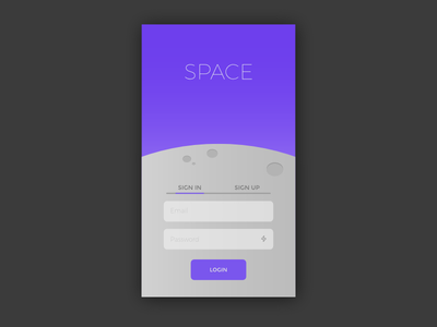 Sign In Screen Mockup signup day01 sketch uichallenge