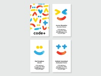 code+ Business Cards
