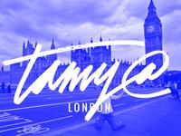 Tamy Script - London