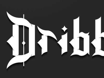 Blackletter (Dribbble)