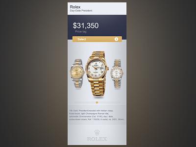 Rolex Ui rolex ui design gold watches