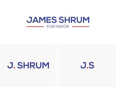 James Shrum Logo design logo
