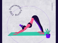 Illustartion - Yoga poses
