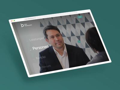 Isler Pedrazzini Web Relaunch webdesign rebranding green simple ux digital branding design animation