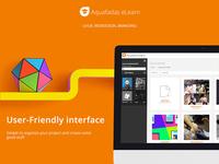 Aquafadas eLearn - UI / UX Design