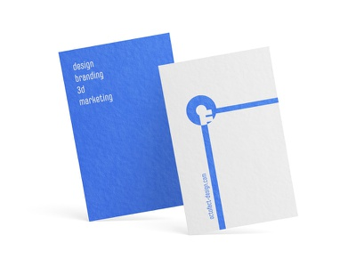 The key for your problems - OctoFact contest bauhaus businesscard simple design adobehiddentreasures