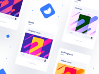 Tasks & cards 📌