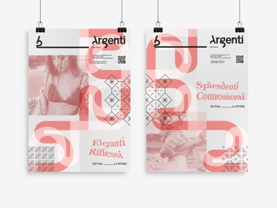 Argenti - Modular Posters poster design poster art posters modular modular design branding design brand identity typography concept branding design graphic art