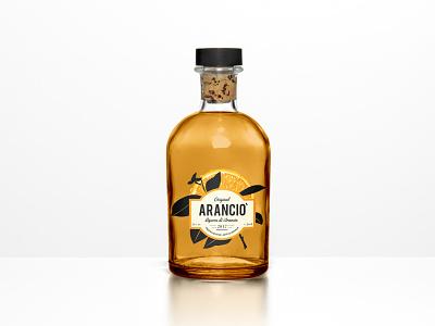 Aranciò - Orange Liquor orange logo orange juice orange liquor 3d artist 3d art branding brand identity logo illustration graphic art bottle mockup bottle design bottle label