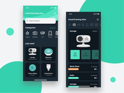 Smart Home App icons set illustrations flat design turquoise remote control smart device smart home smarthome uiux ui design brand sketch app branding illustration brand identity ui art graphic design