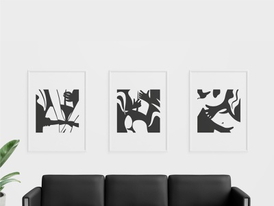 Taboo Illustrations graphic art printing decoration living room art direction artwork painting paintings frame pictures wall art wall art graphic illustration illustrations