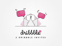 Dribbble Invitation Giveaway