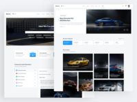 ReCars UI Kit - News & Help