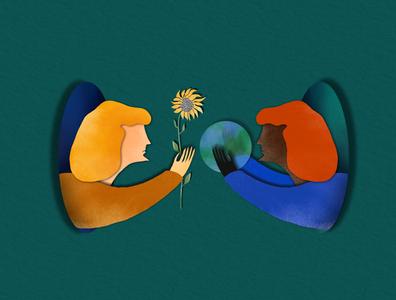 | Hope | artwork digitalartwork papercut drawing watercolor illustration
