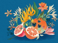 | Fruits, flowers and colours |