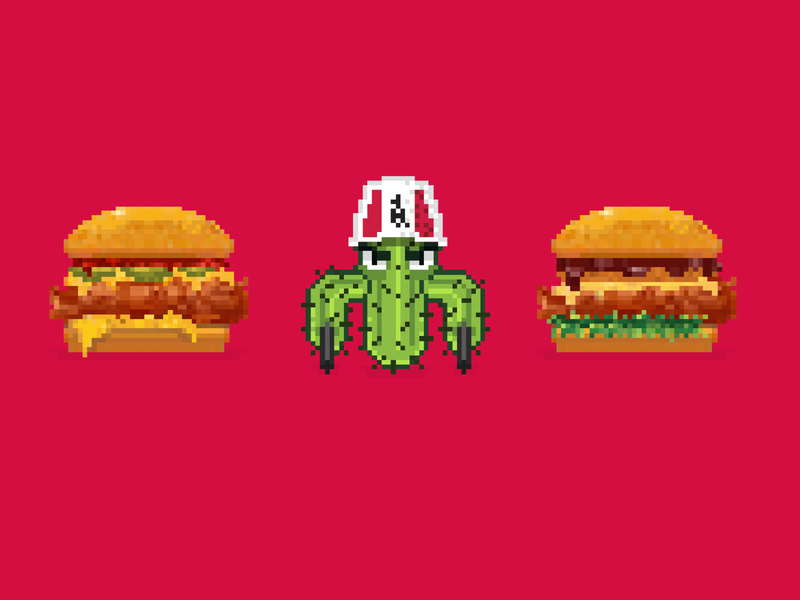 KFC Burgerbattle - Game items
