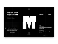 M-Building Homepage animation